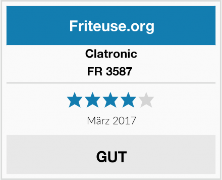 Clatronic FR 3587  Test