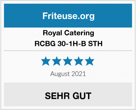 Royal Catering RCBG 30-1H-B STH Test