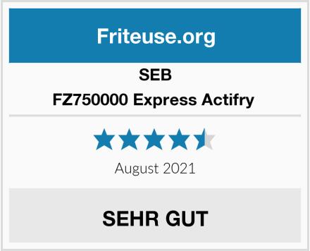 Seb FZ750000 Express Actifry  Test