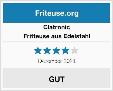 Clatronic Fritteuse aus Edelstahl Test