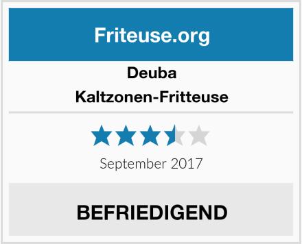Deuba Kaltzonen-Fritteuse Test