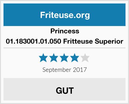 Princess 01.183001.01.050 Fritteuse Superior Test