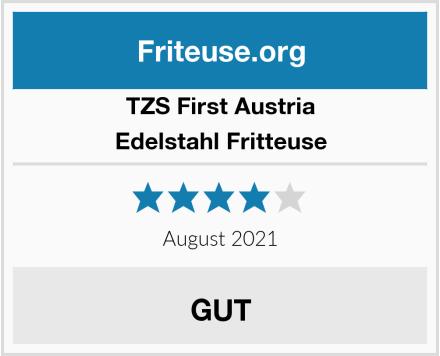TZS First Austria Edelstahl Fritteuse Test