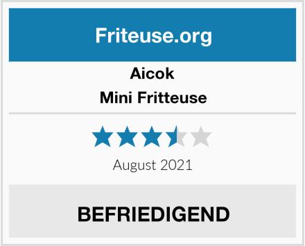 Aicok Mini Fritteuse Test