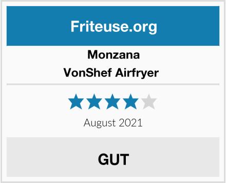 Monzana VonShef Airfryer  Test