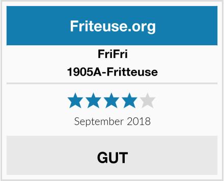 Frifri 1905A-Fritteuse Test