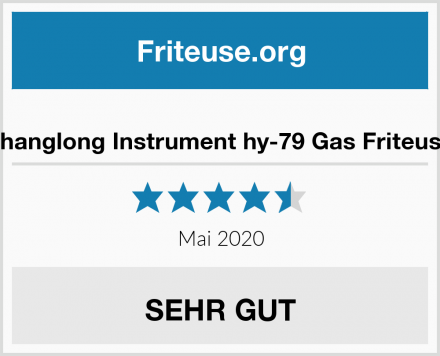 changlong Instrument hy-79 Gas Friteuse Test