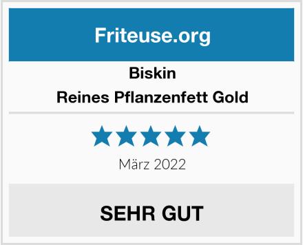 Biskin Reines Pflanzenfett Gold Test
