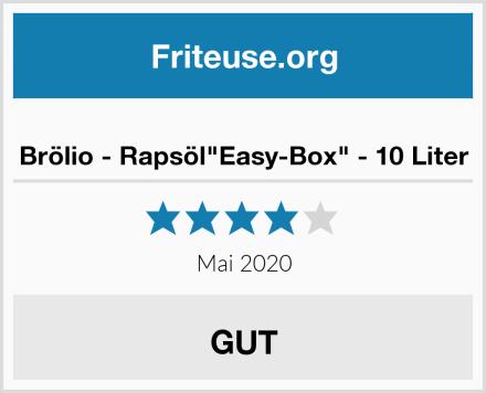 "Brölio - Rapsöl""Easy-Box"" - 10 Liter Test"