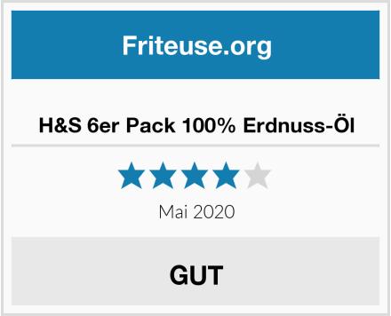 No Name H&S 6er Pack 100% Erdnuss-Öl Test
