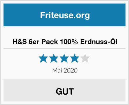 H&S 6er Pack 100% Erdnuss-Öl Test