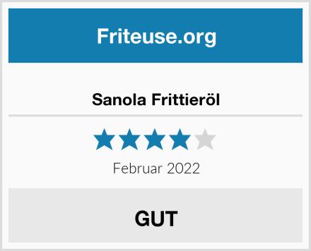 Sanola Frittieröl Test