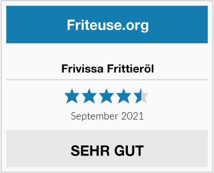 Frivissa Frittieröl Test