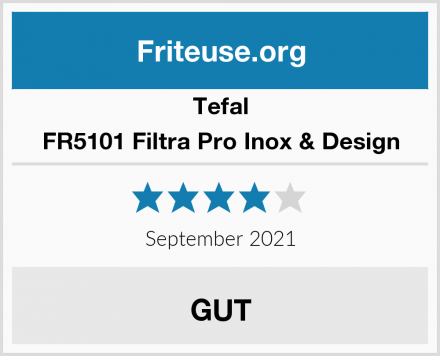 Tefal FR5101 Filtra Pro Inox & Design Test