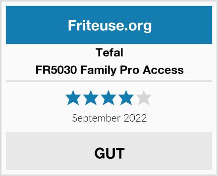 Tefal FR5030 Family Pro Access Test