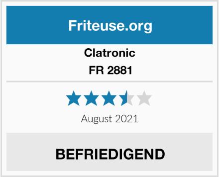 Clatronic FR 2881 Test
