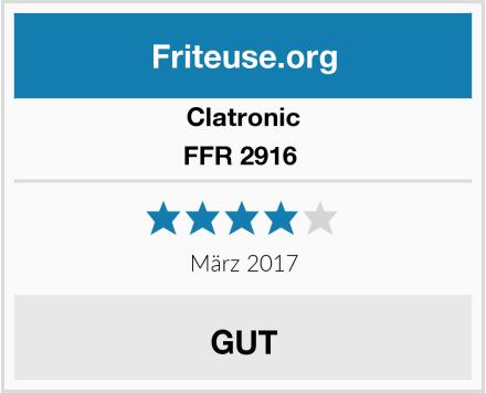 Clatronic FFR 2916  Test