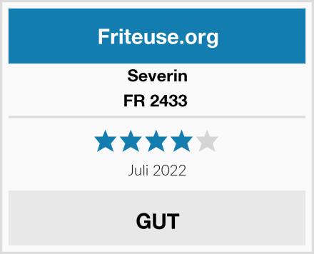 Severin FR 2433  Test
