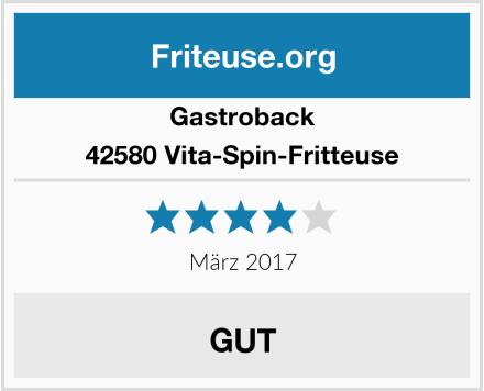 Gastroback 42580 Vita-Spin-Fritteuse Test