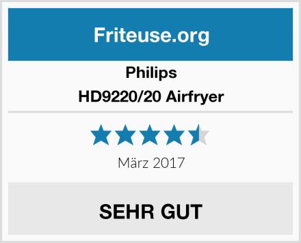 Philips HD9220/20 Airfryer Test