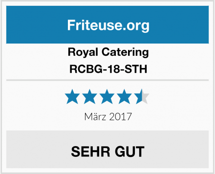Royal Catering RCBG-18-STH Test