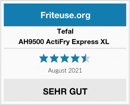 Tefal AH9500 ActiFry Express XL  Test