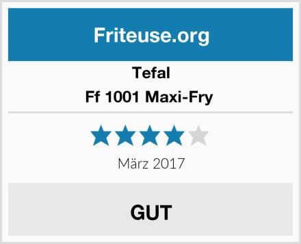 Tefal Ff 1001 Maxi-Fry  Test