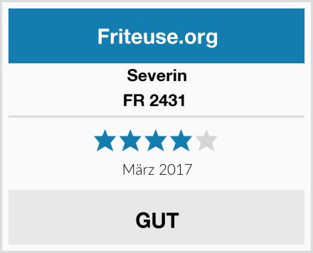 Severin FR 2431  Test