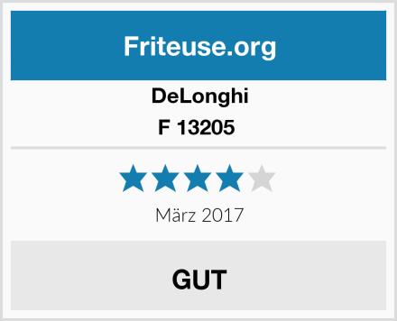 DeLonghi F 13205  Test