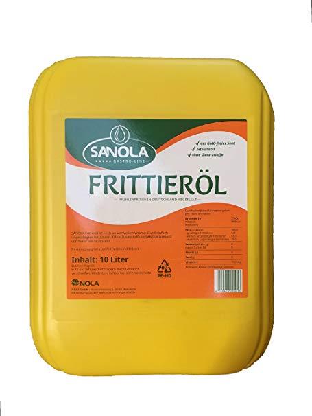 No Name SANOLA Frittieröl 10 Liter