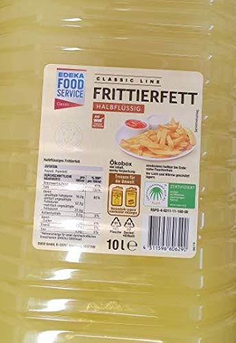 Topkauf Frittierfett halbflüßig 10l PET Flasche