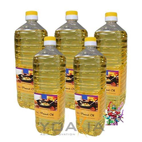 5er Pack 100% Erdnuss-Öl