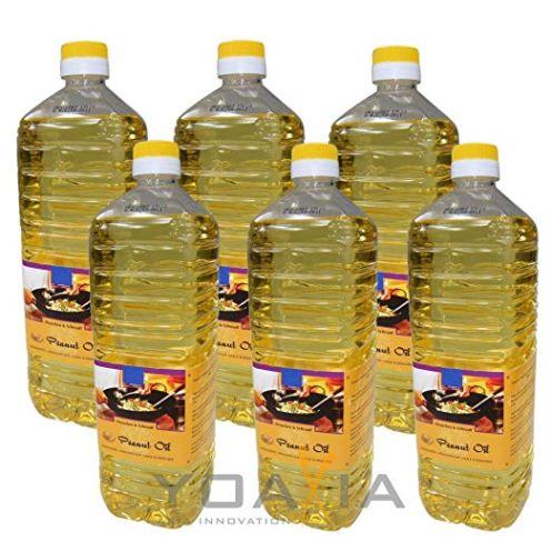 H&S 6er Pack 100% Erdnuss-Öl